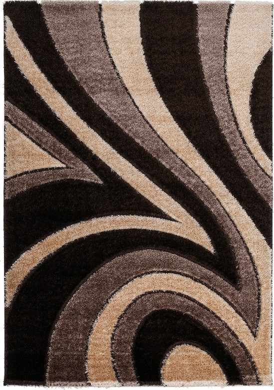 tapis shaggy moderne parseme de lurex coloris marron beige funky rsultat suprieur inspirant. Black Bedroom Furniture Sets. Home Design Ideas