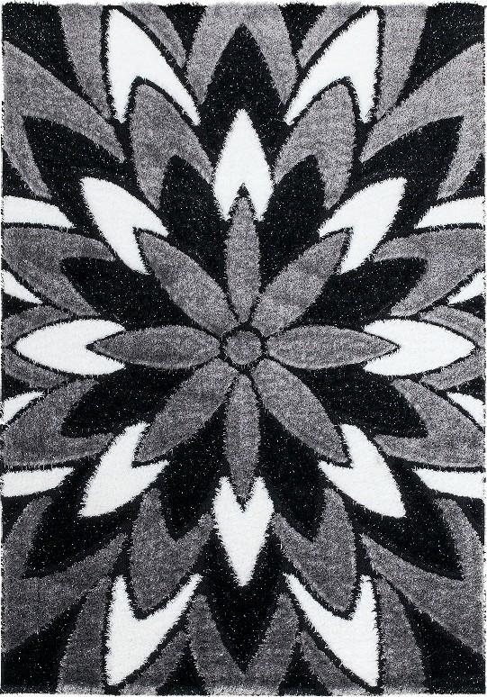tapis design noir et blanc good tapis design labyrinthe. Black Bedroom Furniture Sets. Home Design Ideas