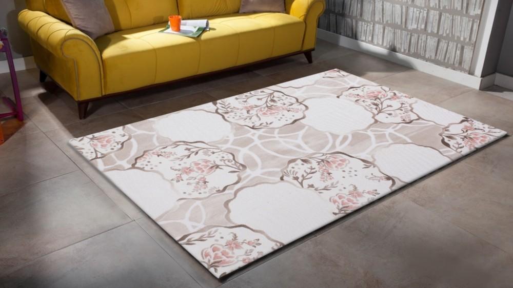 Tapis De Salle A Manger Salon Design Lila Violette Avec Effet 3d Indila 9