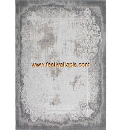 Tapis contemporain acrylique,tapis moderne acrylique,tapis acrylique gris,tapis acrylique beige