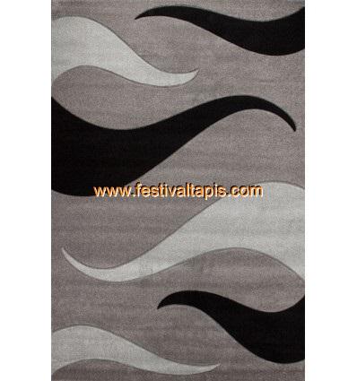 Tapis effet 3D design coloris gris tapis pour salon, tapis salon design, tapis pour salon pas cher, tapis moderne salon, tapis d
