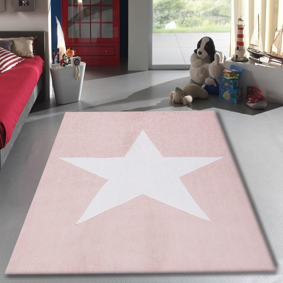 Tapis salon 120x170cm etoile chambre vintage en acrylique for Tapis pas cher pour salon