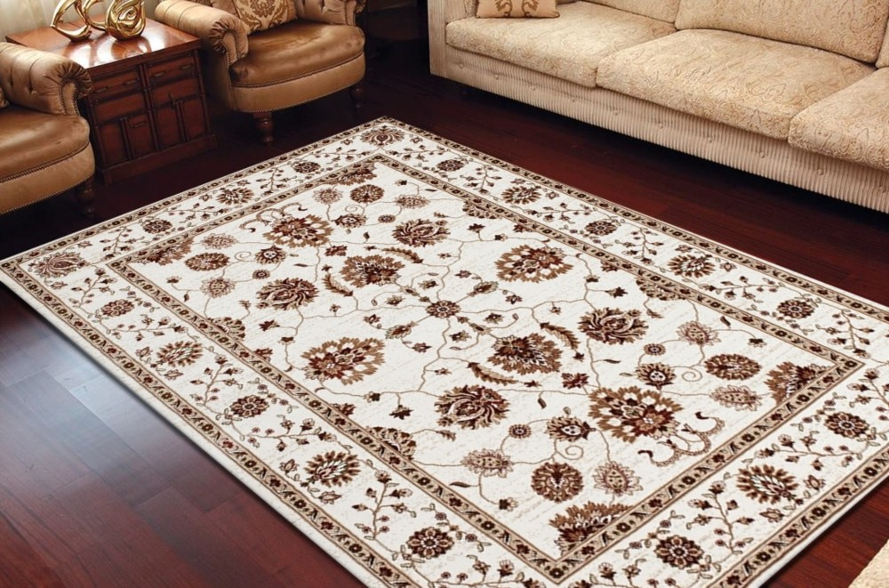 tapis design polypropyl ne soft multicolore ivory modern habitat 8 pas cher. Black Bedroom Furniture Sets. Home Design Ideas