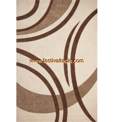 Tapis ivoire design en heatset frissé effet 3D tapis pour salon, tapis salon design, tapis pour salon pas cher, tapis moderne salon, tapis de salon design, grand tapis salon, tapis salon moderne, tapis design