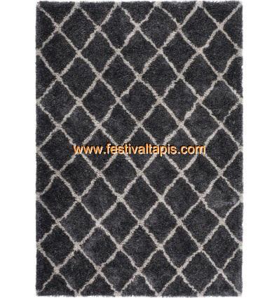 Tapis shaggy gris clair ,tapis shaggy noir et gris ,tapis shaggy paillette ,tapis shaggy taupe pas cher