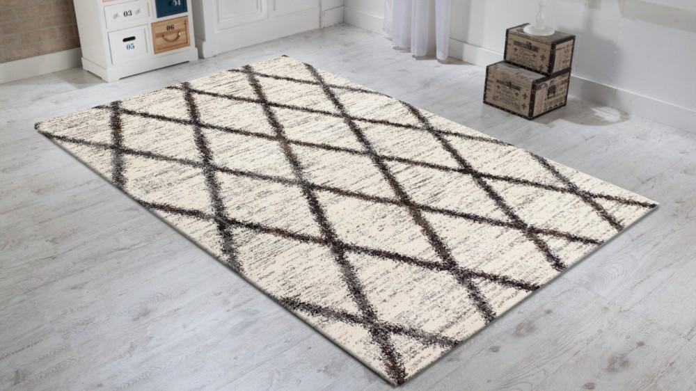 tapis en polypropyl ne contemporain d 39 int rieur couleur beige clair wood 3. Black Bedroom Furniture Sets. Home Design Ideas