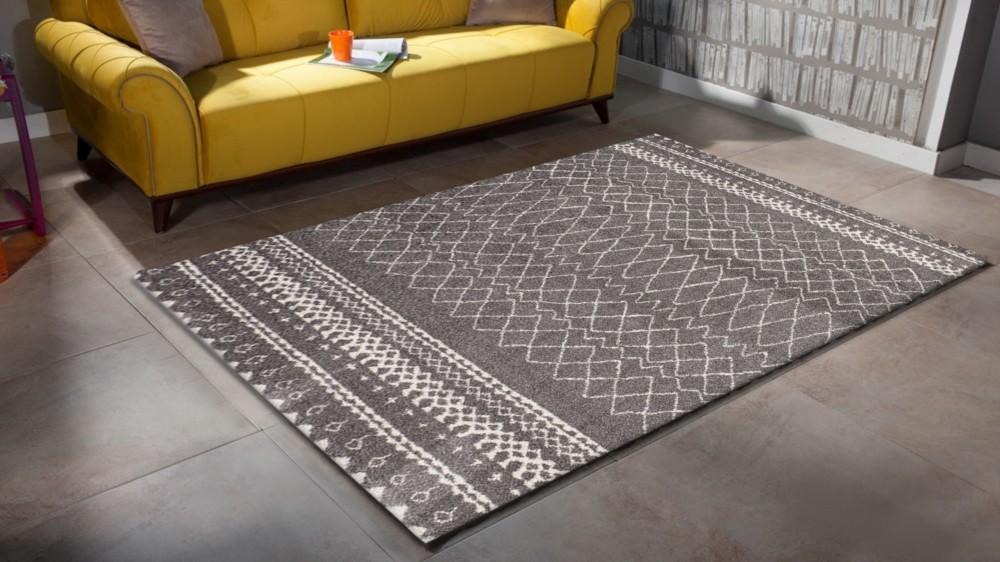 tapis en polypropyl ne contemporain d 39 int rieur couleur gris silver wood 5. Black Bedroom Furniture Sets. Home Design Ideas