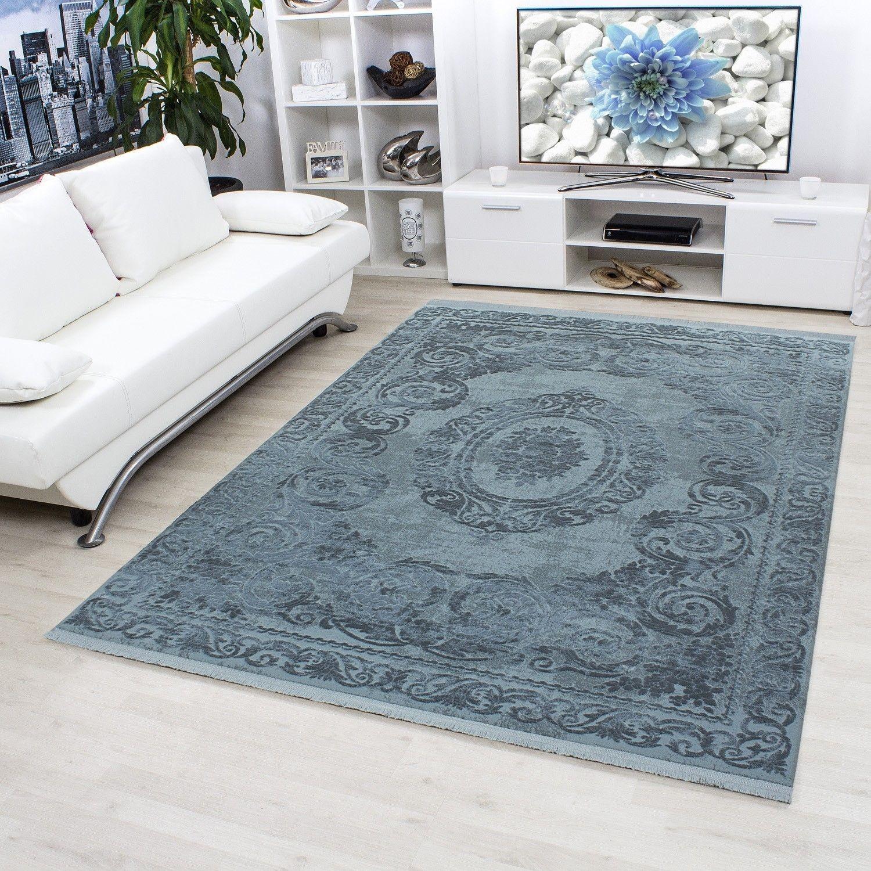 tapis blue style baroque acrylique tapis design salon tapis designer tapis design rouge tapis. Black Bedroom Furniture Sets. Home Design Ideas