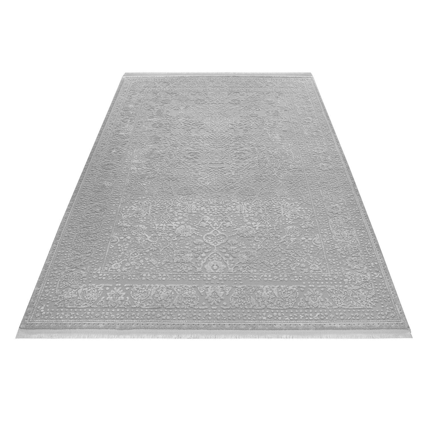 tapis gris style baroque acrylique haut qualite naturel brillant sencha 8 tapis beige tapis. Black Bedroom Furniture Sets. Home Design Ideas