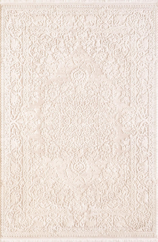 Tapis cream style baroque acrylique haut qualite naturel for Tapis shaggy avec canapés duvivier en solde