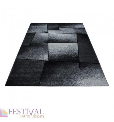 tapis gris clair pas cher, grand tapis gris, tapis gris foncé, tapis design gris