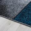 Tapis design, tapis salon design turquoise, tapis design salon, tapis turquoise