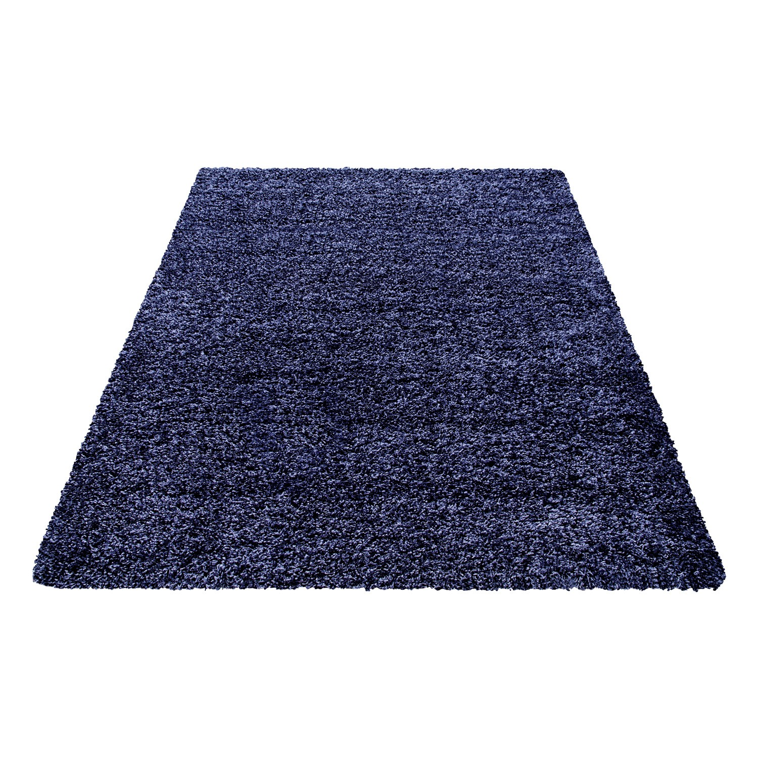 tapis shaggy mauve moderne tapis design uni en. Black Bedroom Furniture Sets. Home Design Ideas