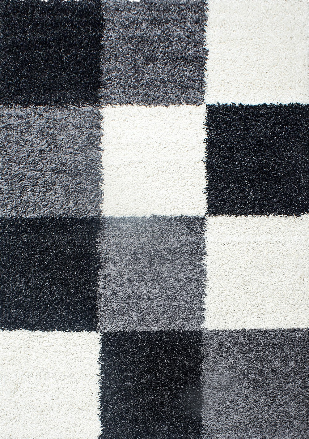 tapis shaggy noir et blanc tapis rouge shaggy tapis shaggy blanc pas cher - Tapis Noir
