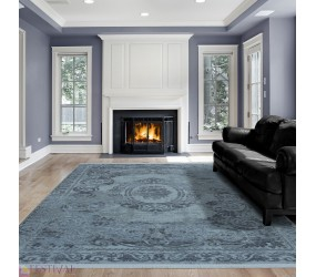 Tapis design blue, tapis salon design blue, tapis design salon, tapis designer blue