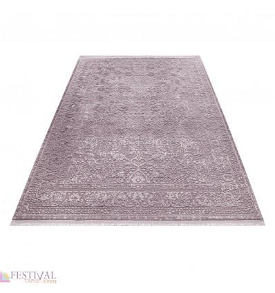 tapis rose violette style baroque acrylique haut qualite naturel brillant sencha 72. Black Bedroom Furniture Sets. Home Design Ideas