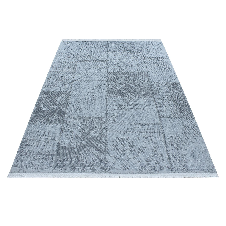 tapis blue style baroque acrylique haut qualite tapis designer tapis design rouge tapis laine. Black Bedroom Furniture Sets. Home Design Ideas