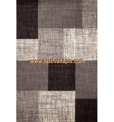 Tapis d'intérieur Patchwork coloris gris argent tapis design, tapis design rouge, tapis rouge design, design tapis, tapis et d