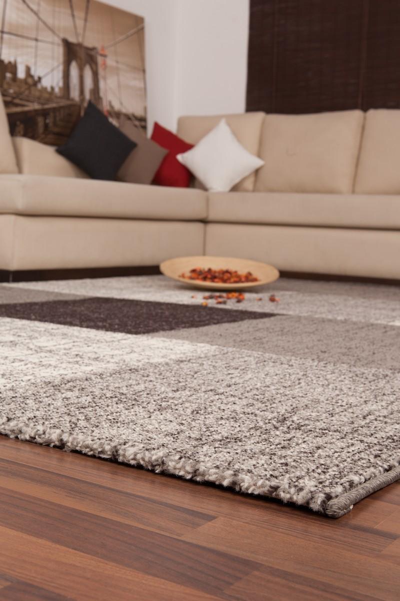 tapis d 39 int rieur patchwork coloris gris argent lord. Black Bedroom Furniture Sets. Home Design Ideas