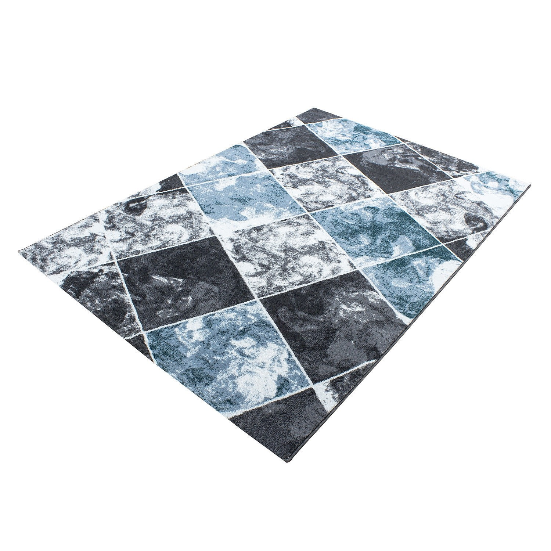 tapis design moderne coloris turquoise chic. Black Bedroom Furniture Sets. Home Design Ideas