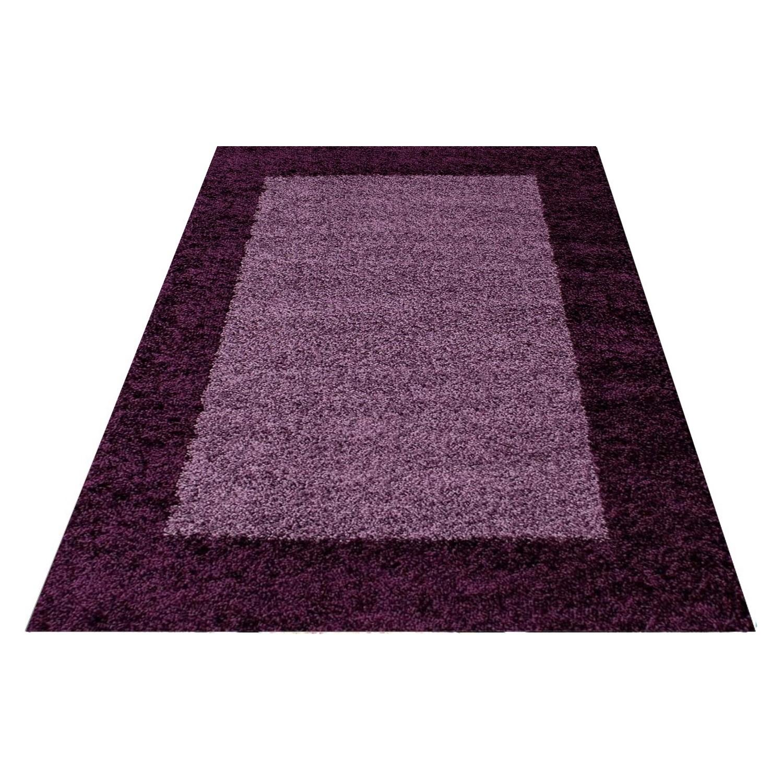 tapis shaggy lila moderne tapis design en polypropylne vasco - Tapis Shaggy