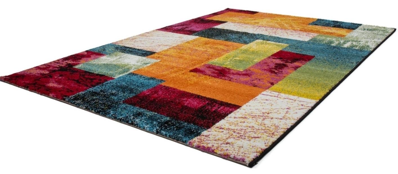 Tapis multicolore patchwork Vigo