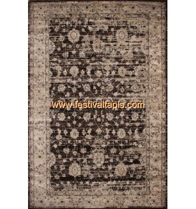 Tapis vintage moderne coloris beige grand tapis pas cher, tapis grande taille pas cher, grand tapis gris pas cher, grand tapis p