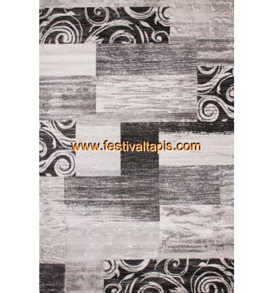 Tapis vintage moderne coloris silver tapis beige, tapis beige pas cher, tapis shaggy beige, tapis rond beige, tapis shaggy beige