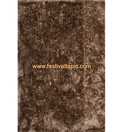 Tapis Shaggy fait main coloris marron tapis salon, tapis de salon, tapis salon pas cher, tapis de salon pas cher, tapis pour sal
