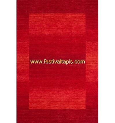 Tapis 100% laine fait à la main coloris rouge ,tapis noir, tapis noir et blanc, tapis noir et blanc pas cher, tapis pas cher noi