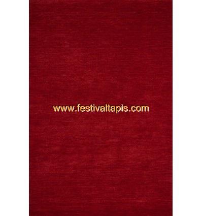 Tapis fait main 100% laine coloris rouge ,magasin de tapis, vente de tapis pas cher, tapis de passage pas cher, vente de tapis,