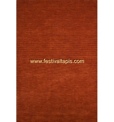 Tapis fait main 100% laine coloris orange ,magasin de tapis, vente de tapis pas cher, tapis de passage pas cher, vente de tapis,
