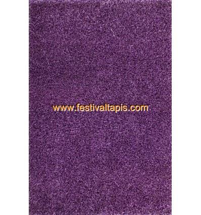 Tapis Shaggy tissé à la main coloris mauve tapis en laine, tapis laine pas cher, tapis laine moderne, tapis en laine pas cher, t