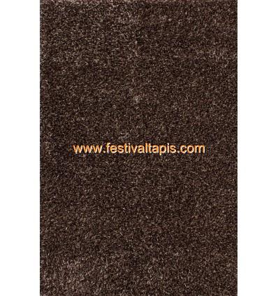 Tapis Shaggy tissé à la main coloris brun tapis en laine, tapis laine pas cher, tapis laine moderne, tapis en laine pas cher, ta