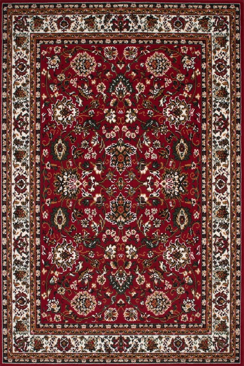 tapis de couloir oriental coloris rouge vif asso - Tapis Oriental Rouge