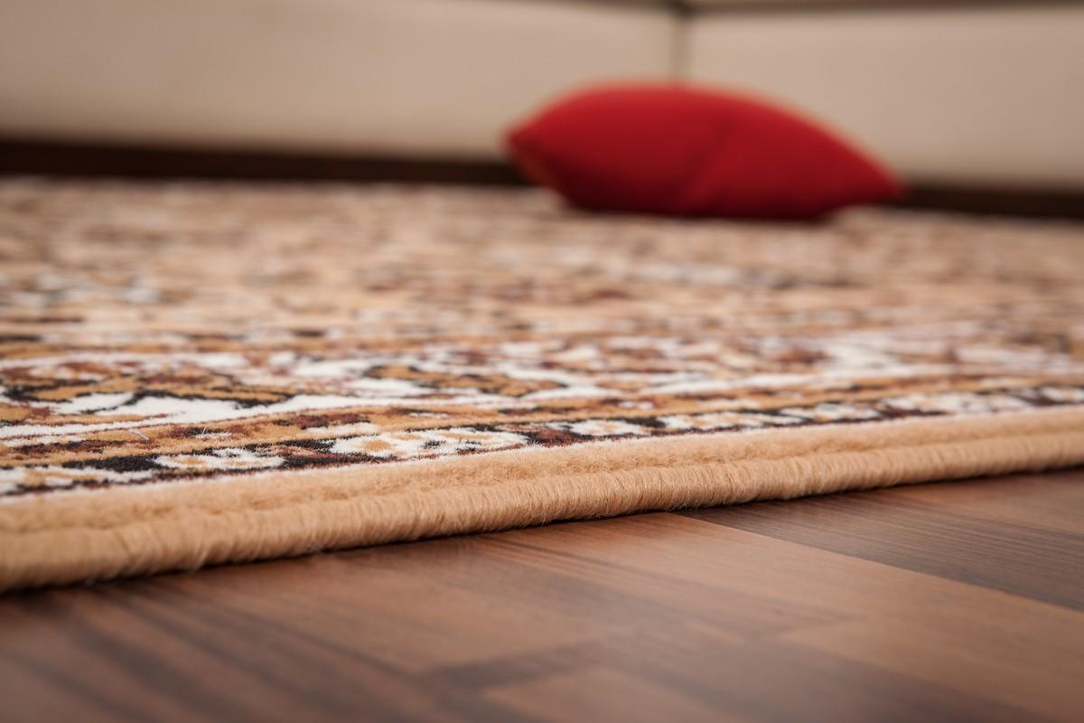 tapis de couloir oriental coloris sable vif asso. Black Bedroom Furniture Sets. Home Design Ideas