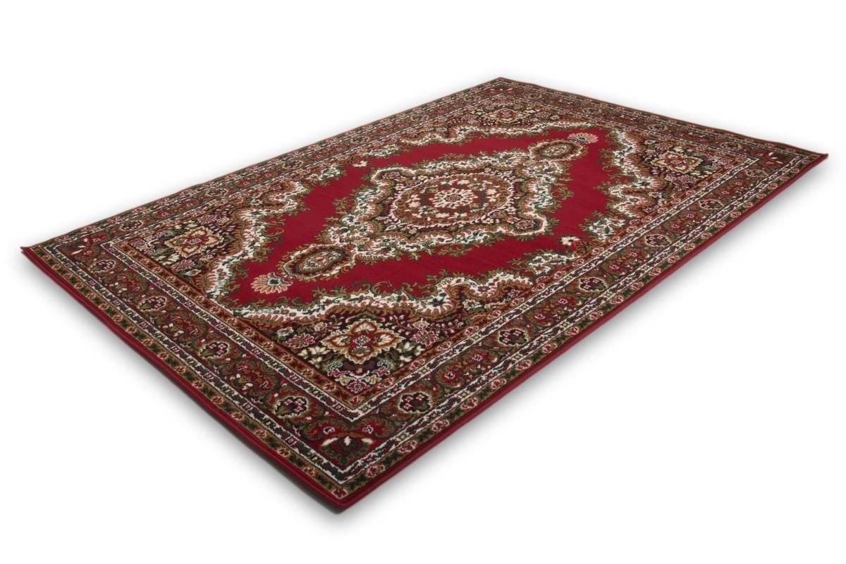 tapis classique oriental coloris rouge vif asso. Black Bedroom Furniture Sets. Home Design Ideas