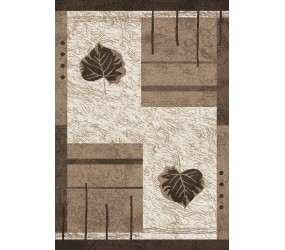 Tapis marron contemporain BRUXELLES
