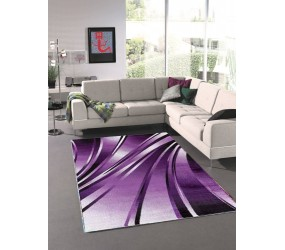 Tapis tendance vintage Violet Madison