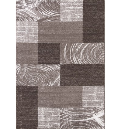 Tapis tendance vintage Brun Madison