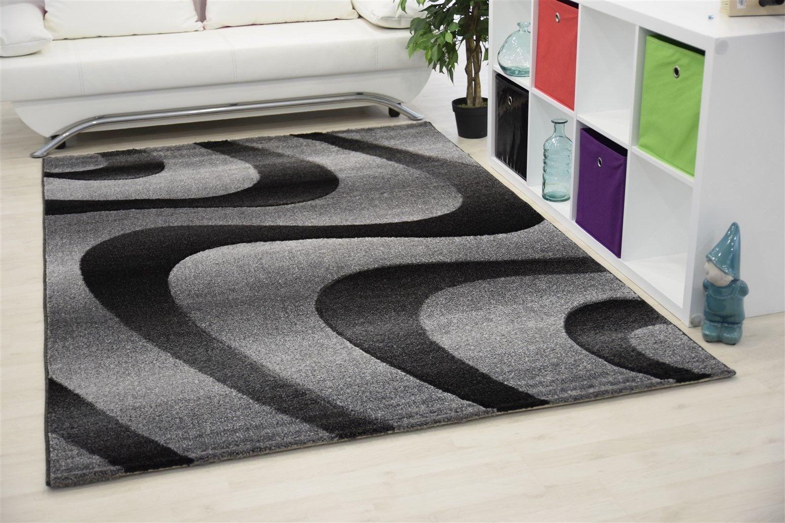 tapis courtes m ches pour salon gris eden. Black Bedroom Furniture Sets. Home Design Ideas