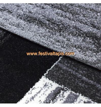 Tapis moderne laine, tapis moderne gris, tapis moderne rouge, tapis moderne design pas cher, tapis rouge et gris moderne