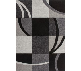 Tapis effet 3D design coloris gris/noir tapis pour salon, tapis salon design, tapis pour salon pas cher, tapis moderne salon, tapis de salon design, grand tapis salon, tapis salon moderne, tapis design