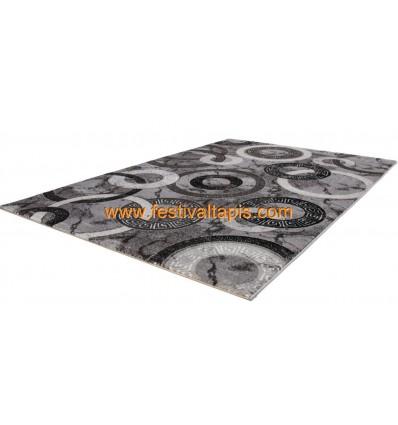 Tapis et design, grand tapis design, tapis designer, tapis design bleu, tapis blanc design