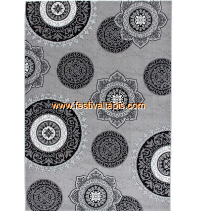 Tapis salon moderne, tapis design salon, tapis de salon moderne, tapis salon gris, grand tapis salon pas cher