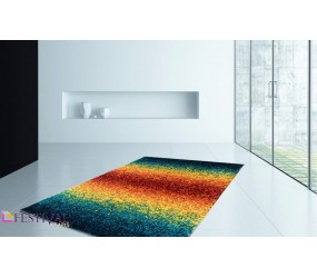 Tapis rayures multicolores ,tapis boules multicolores ,tapis salon multicolore ,tapis laine multicolore