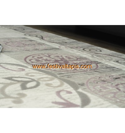 Tapis rond laine ,tapis contemporain laine ,tapis moderne laine ,tapis laine gris ,tapis laine beige
