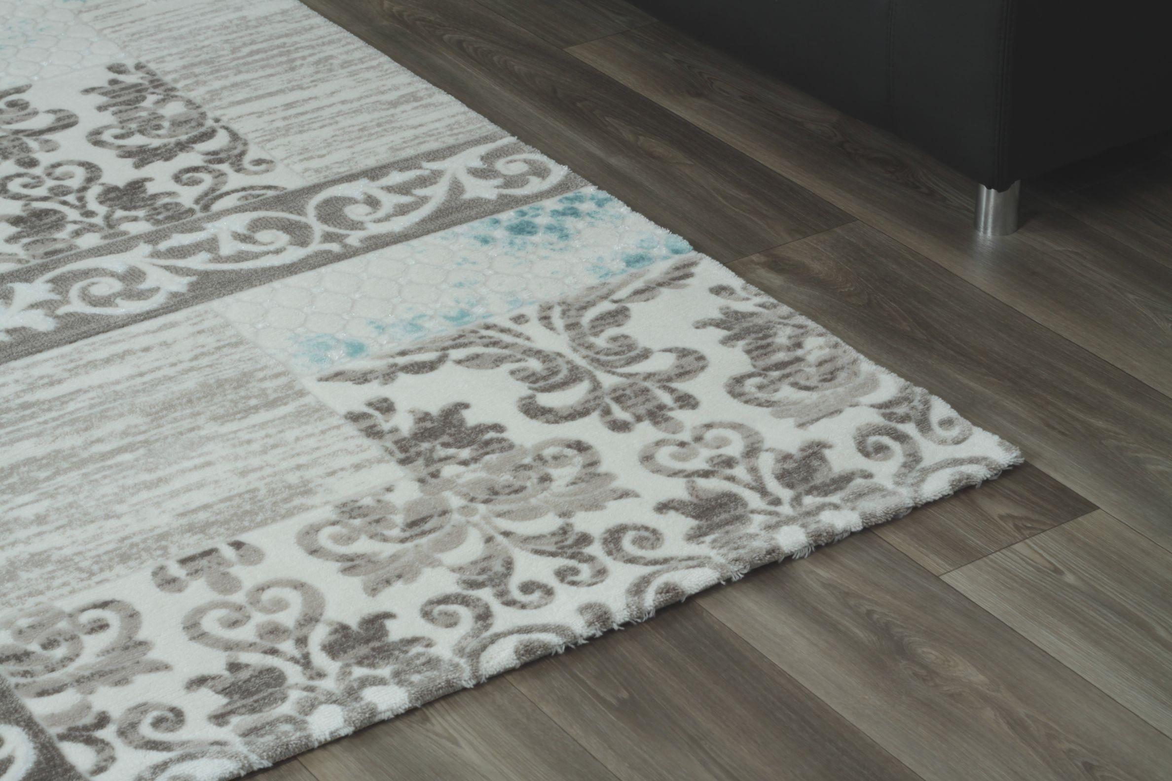 Tapis gris clair pas cher hoze home Grand tapis clair
