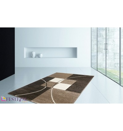 Tapis carré design ,tapis design brun ,tapis design belgique ,petit tapis design ,tapis design orange
