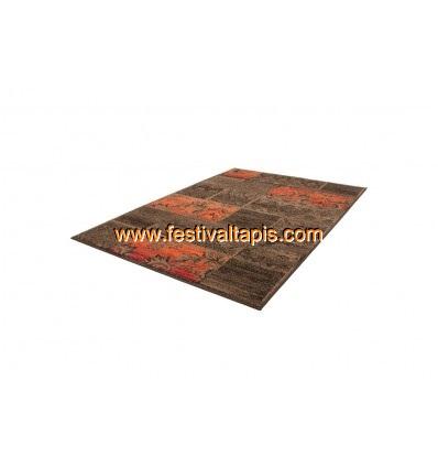 Tapis Patchwork de couleurs marron et orange grand tapis pas cher, tapis grande taille pas cher, grand tapis gris pas cher, grand tapis pas cher maison, grands tapis pas chers, grand tapis noir pas cher, grand tapis pas cher uni